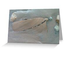 Beach Stone Landscape Greeting Card