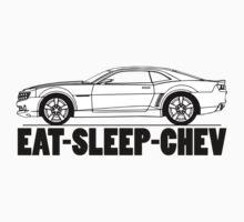 Eat Sleep Chev One Piece - Long Sleeve