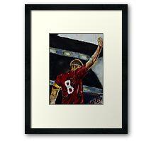 Steven Gerrard Framed Print