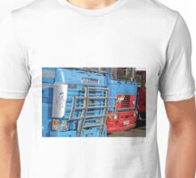 Classic Commercial Lorries at Warminster, Wiltshire, UK Unisex T-Shirt