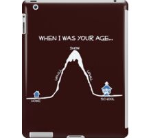when i am young iPad Case/Skin