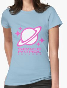 Space Patrol Ogikubo - Pink Womens Fitted T-Shirt