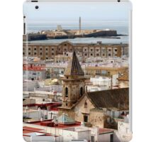 Spain - Cadiz - fort - view from camera obscura iPad Case/Skin