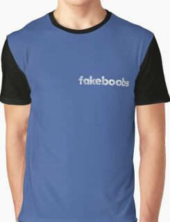 Fakeboobs vintage Logo White Graphic T-Shirt