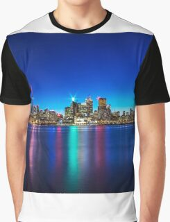 Toronto Skyline 4 Graphic T-Shirt