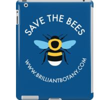 Save the Bees - Bumblebee iPad Case/Skin
