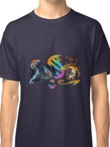 MegaEvolution (Swampert vs Blaziken)-Pokemon Classic T-Shirt