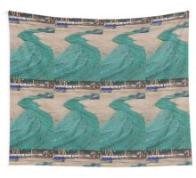Around the Harbours - Ullapool Net Wall Tapestry