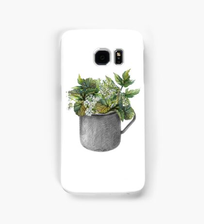 Mug with green forest growth Samsung Galaxy Case/Skin