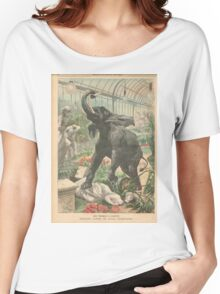 Elephant rampage Crystal Palace London 1900 Women's Relaxed Fit T-Shirt