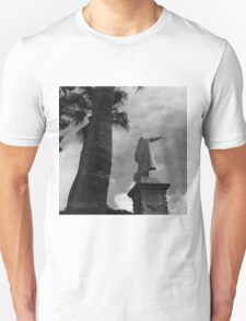 Statue of Christoper Columbus in Cartagena Spain Unisex T-Shirt