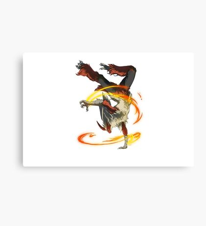 Pokemon - Mega Blaziken Canvas Print