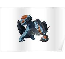 Pokemon - Mega Swampert Poster