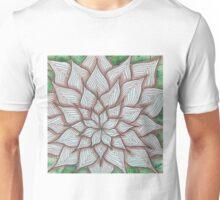 Blumig und blättrig Unisex T-Shirt