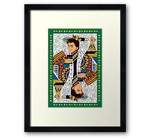The kings of all cards Framed Print