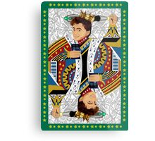 The kings of all cards Metal Print