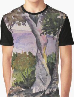 Blue gum walk Graphic T-Shirt