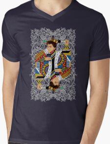The kings of all cards Mens V-Neck T-Shirt
