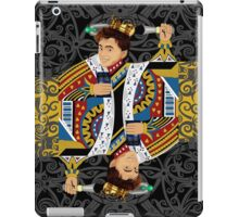 The kings of all cards iPad Case/Skin