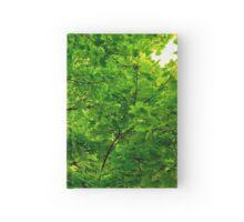 Leafy Vortex Hardcover Journal
