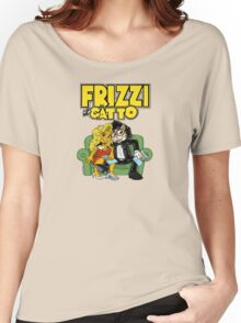 Frizzi il Gatto  Women's Relaxed Fit T-Shirt