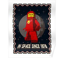 In space since 1978 RED Poster