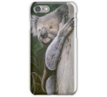 Luigi the Koala - a painting of a real encounter iPhone Case/Skin