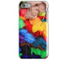 Colorful Yarn iPhone Case/Skin