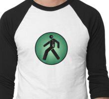 Walk(man) Men's Baseball ¾ T-Shirt