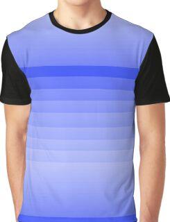 Blue Fade Graphic T-Shirt