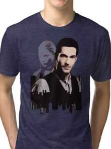 Lucifer Morningstar Tri-blend T-Shirt