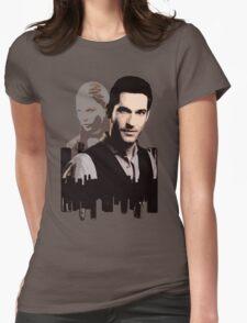 Lucifer Morningstar Womens Fitted T-Shirt