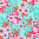 Hawaiian summer floral by mikath