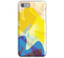 Colourful Patterns W/ Overlay iPhone Case/Skin
