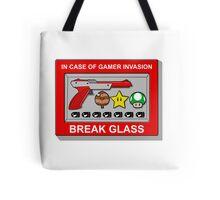 In case of Gamer Invasion Tote Bag