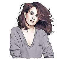 Tina Fey Photographic Print