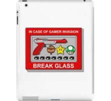 In case of Gamer Invasion iPad Case/Skin
