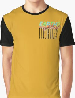 Earths Mightiest Heroes Graphic T-Shirt