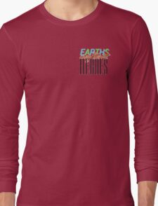 Earths Mightiest Heroes Long Sleeve T-Shirt
