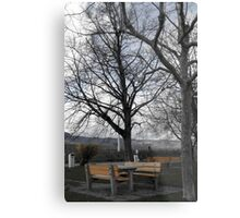 Great place for stop. Metal Print