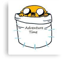 Adventure Time Jake Canvas Print