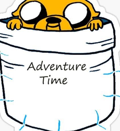 Adventure Time Jake Sticker