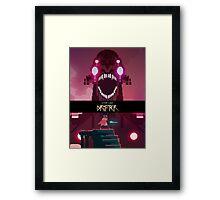 Hyper Light Drifter: Rise Poster Framed Print