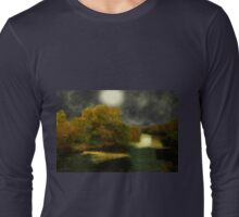 Moonlight in the Berkshires Long Sleeve T-Shirt