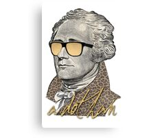 Alexander Hamilton - A dot Ham Canvas Print