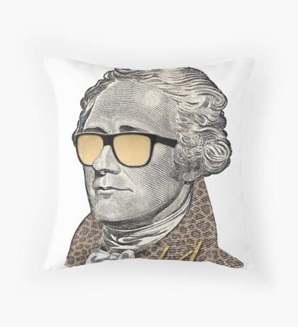 Alexander Hamilton - A dot Ham Throw Pillow
