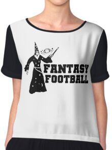 Fantasy Football Funny T-Shirt Chiffon Top
