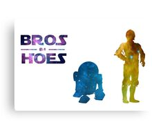 Galaxy Bros Canvas Print