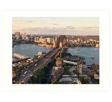 Australia - Sydney - The Rocks to the Bridge Art Print