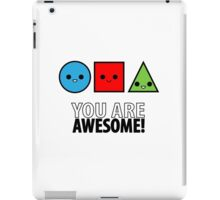 The Shapes of Awesomeness iPad Case/Skin